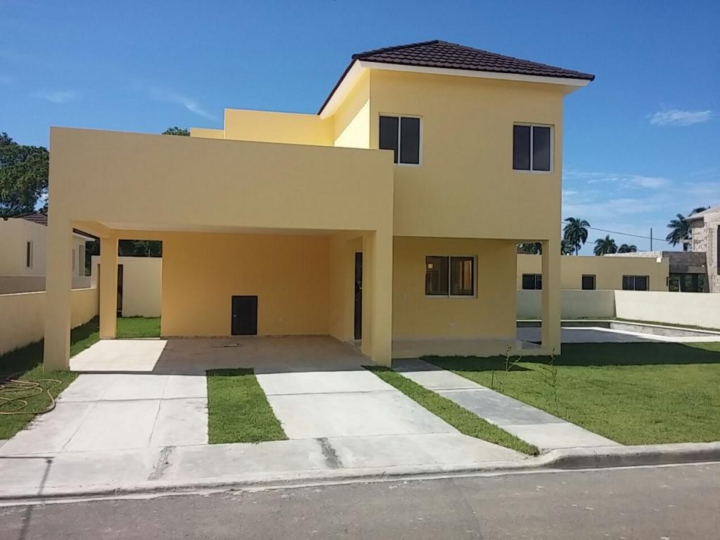 Casas 2 Niveles Proyecto Cerrado Puerto Plata